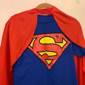 Superman / Supergirl costume Adult size small